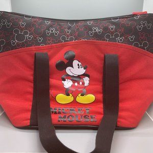 Disney Store Womens Red Black Tote Bag One Size